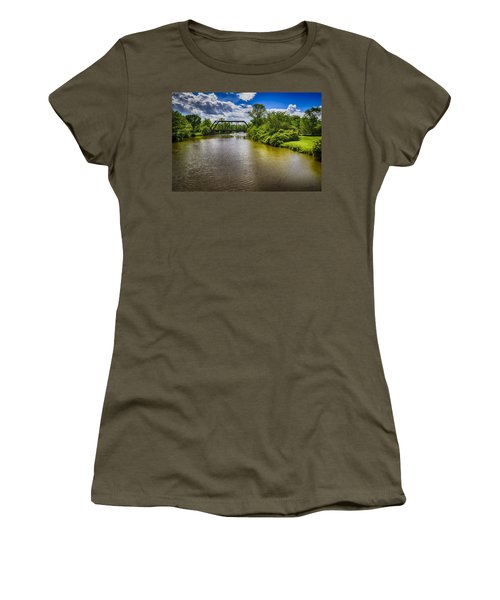 Women's T-Shirt (Junior Cut) featuring the photograph Royal River by Mark Myhaver