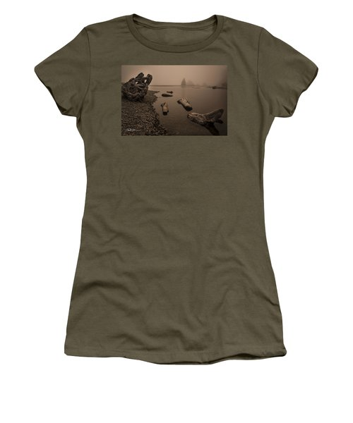 Ruby Beach Fog Women's T-Shirt