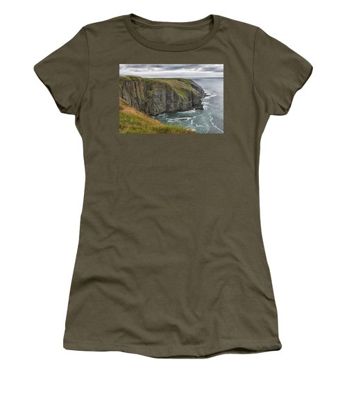 Women's T-Shirt (Junior Cut) featuring the photograph Rugged Landscape by Eunice Gibb
