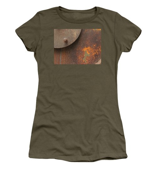 Rusty Abstraction Women's T-Shirt (Athletic Fit)