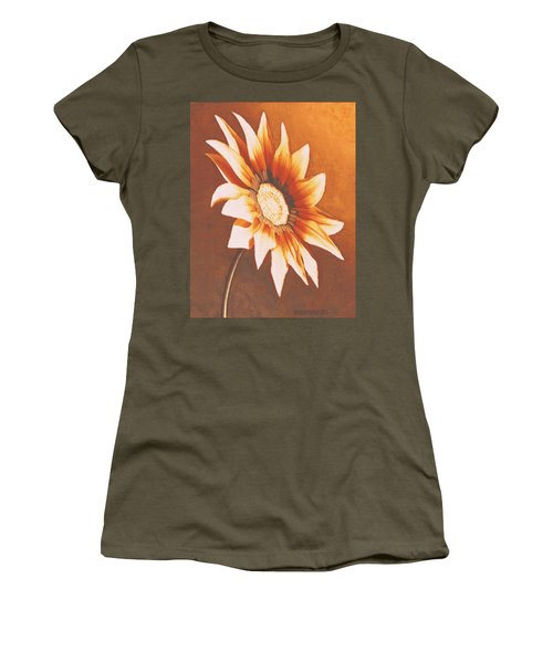 Rusty Gazania Women's T-Shirt (Athletic Fit)