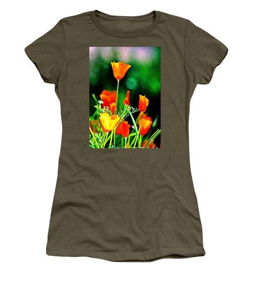Sacramento Delta Poppies Women's T-Shirt