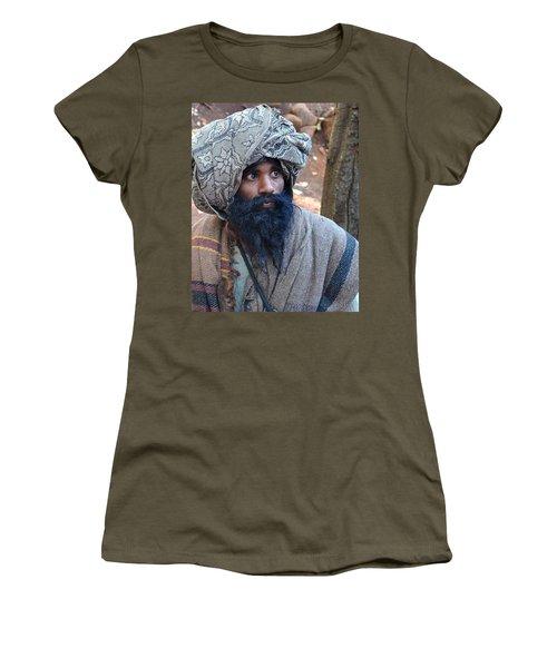 Sadhu At Amarkantak India Women's T-Shirt