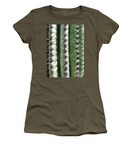 Women's T-Shirt featuring the photograph Saguaro Catus Needles by Bryan Mullennix