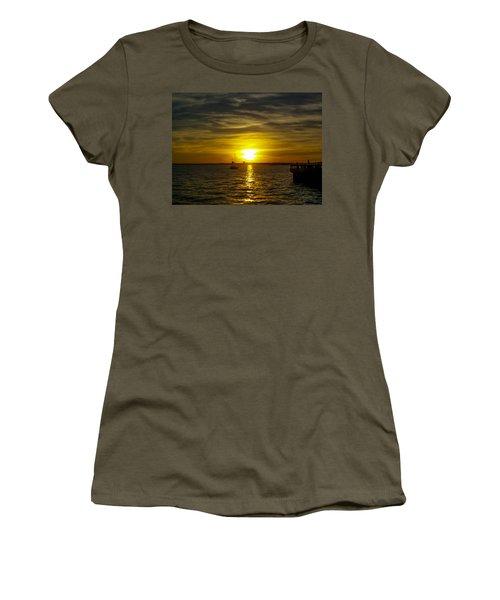 Sailing The Sunset Women's T-Shirt