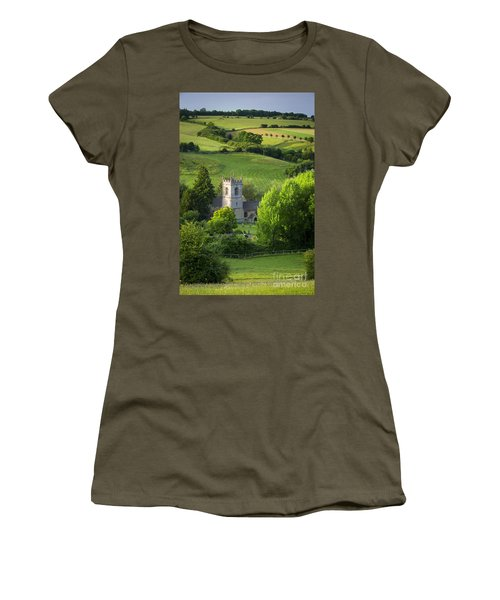 Women's T-Shirt featuring the photograph Saint Andrews - Cotswolds by Brian Jannsen