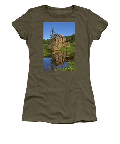 Saint Malo Reflection Women's T-Shirt (Athletic Fit)