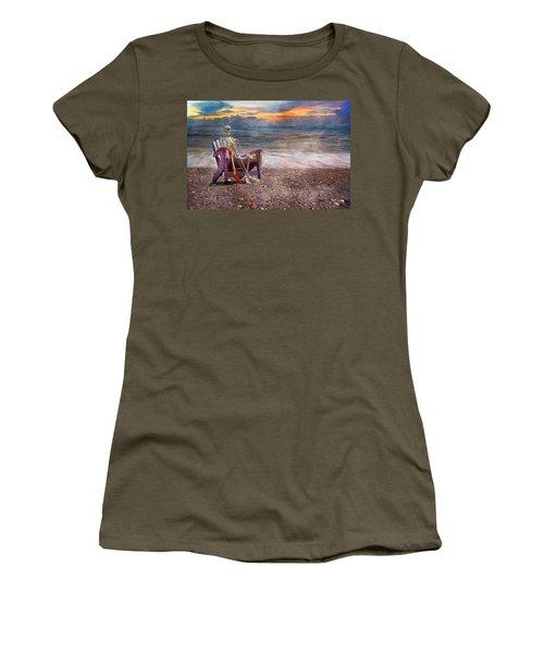 Sam And His Favorite Adirondack Women's T-Shirt