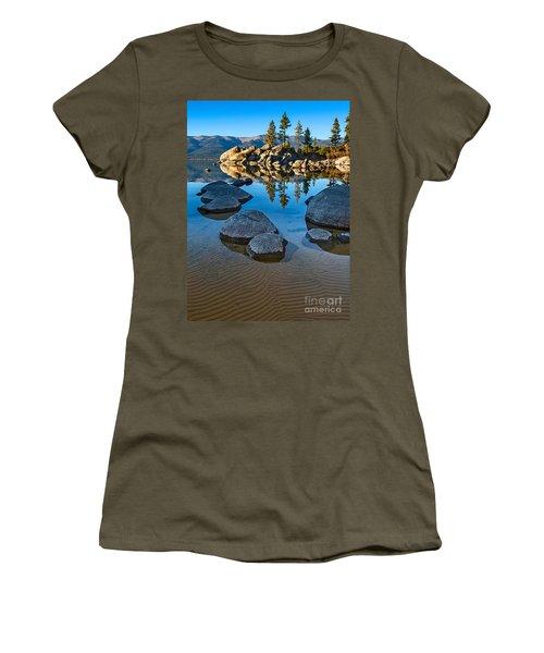 Sand Harbor Ripples Women's T-Shirt