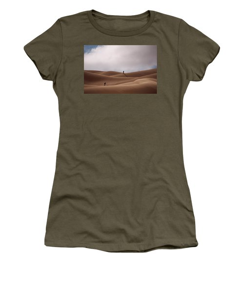 Sand Skiing Women's T-Shirt