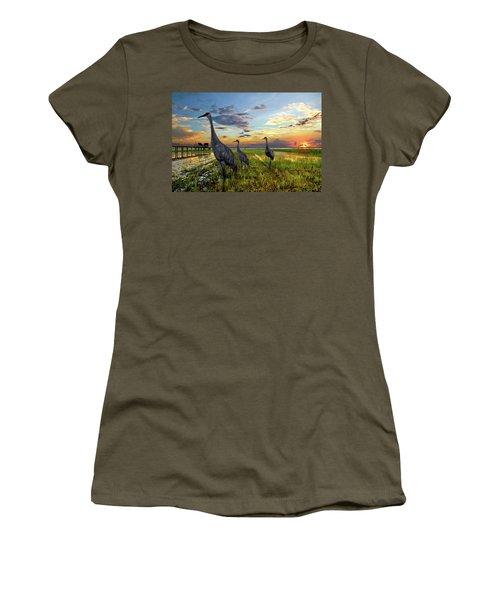 Sandhill Sunset Women's T-Shirt
