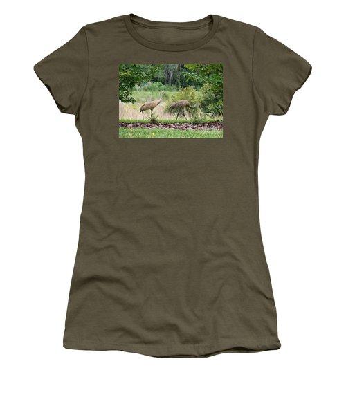 Sandhills Through The Crepe Myrtles Women's T-Shirt