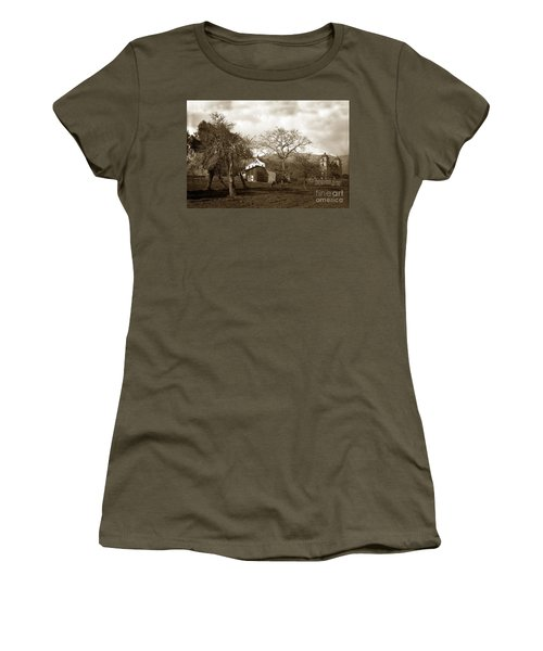 Santa Barbara Mission California Circa 1890 Women's T-Shirt