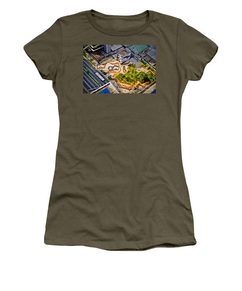 Sao Paulo Downtown - Geometry Of Public Spaces Women's T-Shirt