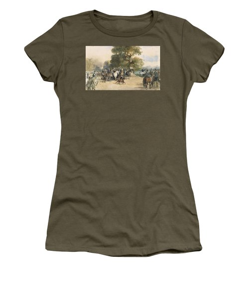 Scene In Hyde Park Women's T-Shirt (Athletic Fit)