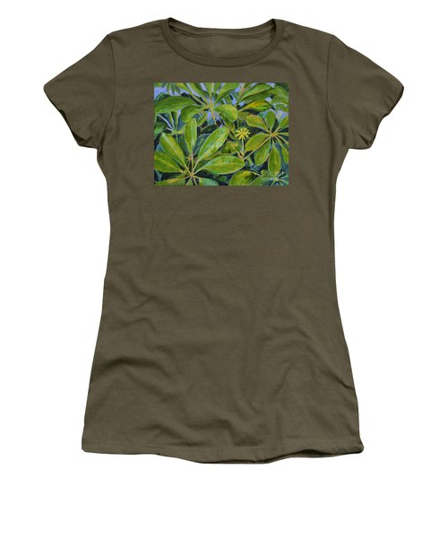 Schefflera-right View Women's T-Shirt
