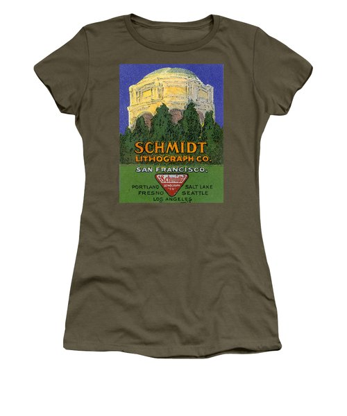 Schmidt Lithograph  Women's T-Shirt (Athletic Fit)