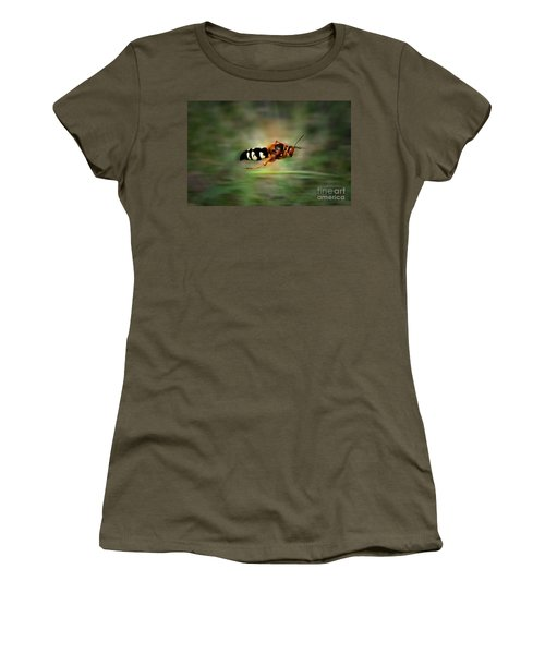 Women's T-Shirt (Junior Cut) featuring the photograph Scouting Mission by Thomas Woolworth