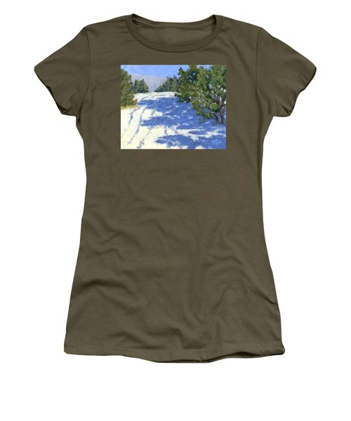 Scrub Oak Shadows Women's T-Shirt (Athletic Fit)