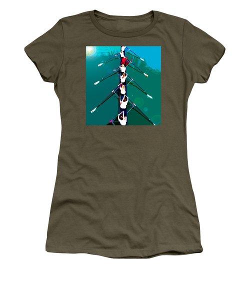 Rowing In The Sun Women's T-Shirt