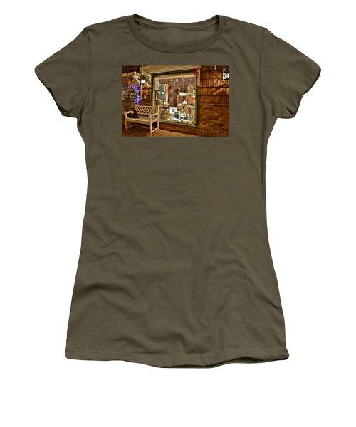 Sea Finds Side Window - Rehoboth Beach Delaware Women's T-Shirt