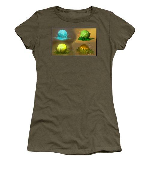 Seasons Women's T-Shirt (Athletic Fit)