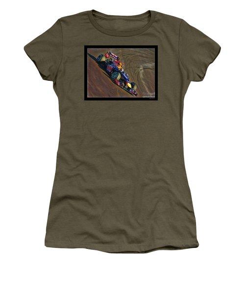 Sebastian Vettel - Red Bull Women's T-Shirt