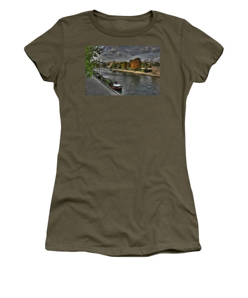 Seine Study Number One Women's T-Shirt (Athletic Fit)