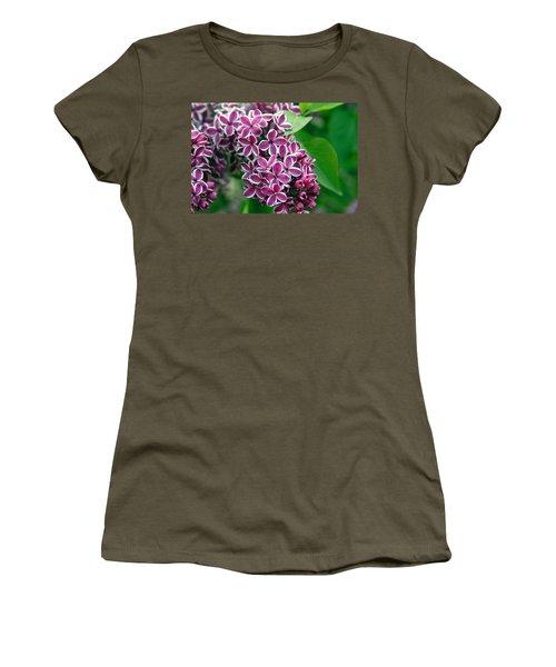 Sensation Lilac Women's T-Shirt (Athletic Fit)