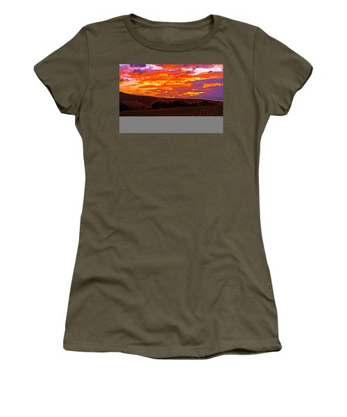 September Smokies Sunrise Women's T-Shirt (Athletic Fit)
