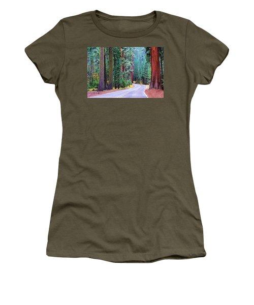 Sequoia Hwy Women's T-Shirt