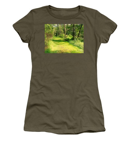 Women's T-Shirt (Junior Cut) featuring the photograph Serenity by Becky Lupe