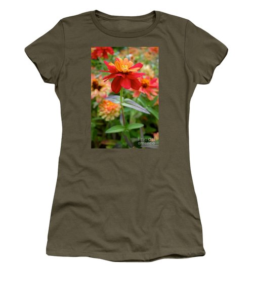 Serenity In Red Women's T-Shirt