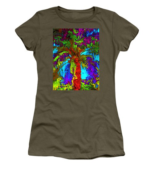 Shade Trees On Venus Women's T-Shirt (Athletic Fit)