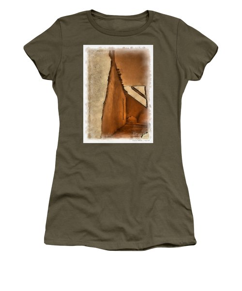 Shadows In Aquarell   Women's T-Shirt (Athletic Fit)