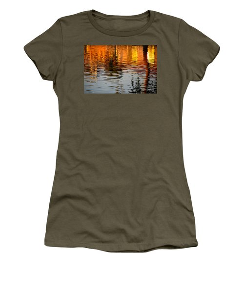 Shimmering Waters Women's T-Shirt (Athletic Fit)