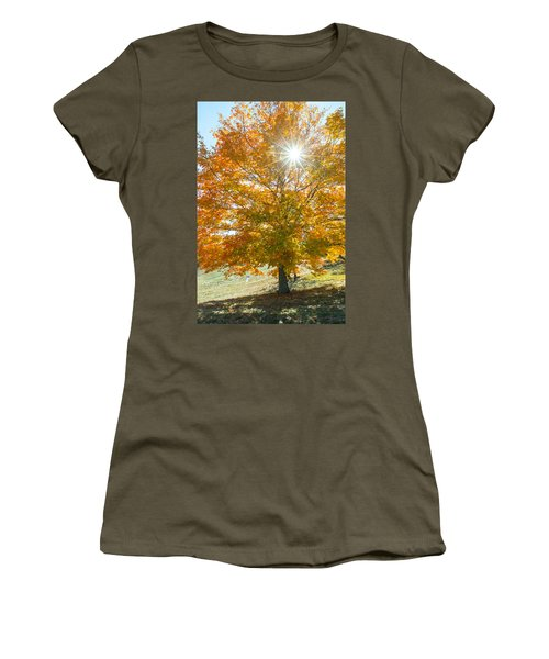 Shining Through Women's T-Shirt (Athletic Fit)