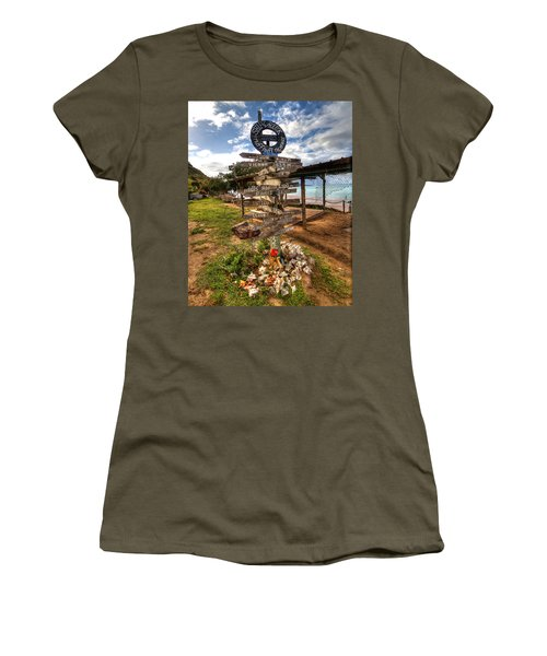 Shipwreck Beach Women's T-Shirt