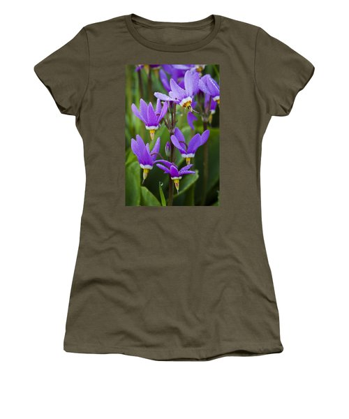 Women's T-Shirt (Junior Cut) featuring the photograph Shooting Stars by Sonya Lang