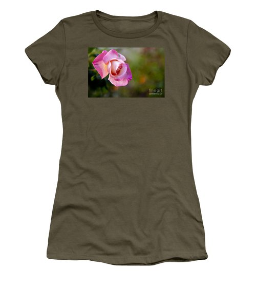 Women's T-Shirt (Junior Cut) featuring the photograph Short Lived Beauty by David Millenheft