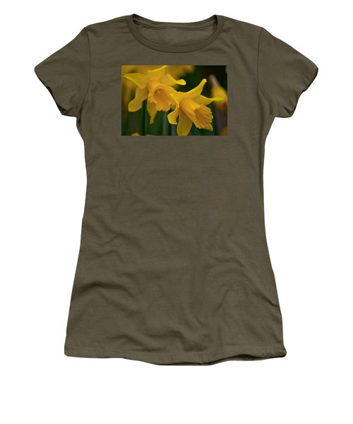 Shout Out Of Spring Women's T-Shirt (Junior Cut) by Tikvah's Hope