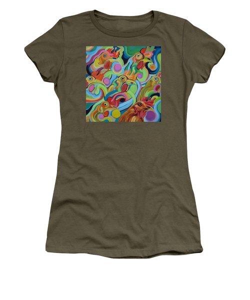 Siete Pollos Women's T-Shirt