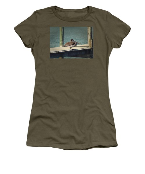 Sitting On The Dock Of The Bay Women's T-Shirt