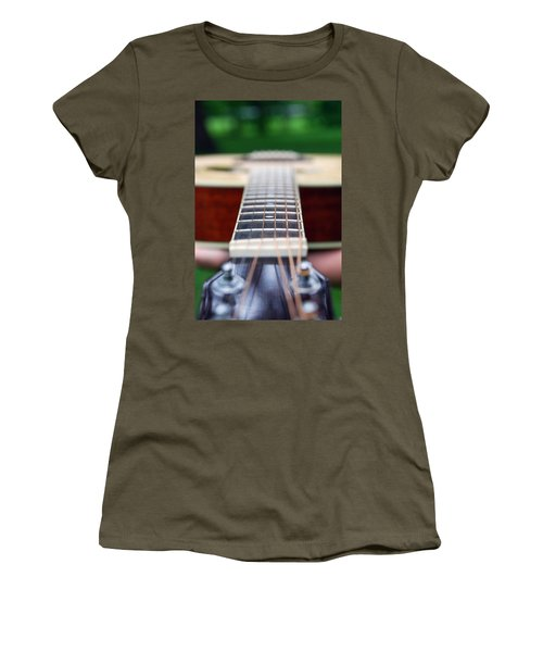 Six String Music Women's T-Shirt