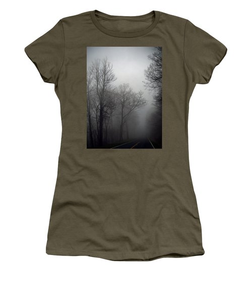 Skyline Drive In Fog Women's T-Shirt