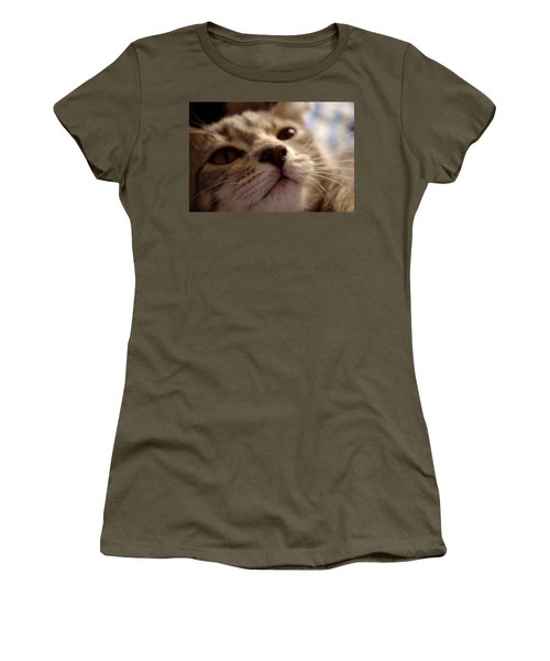 Sleepy Kitten Women's T-Shirt