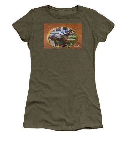 Smarty Jones Women's T-Shirt (Athletic Fit)