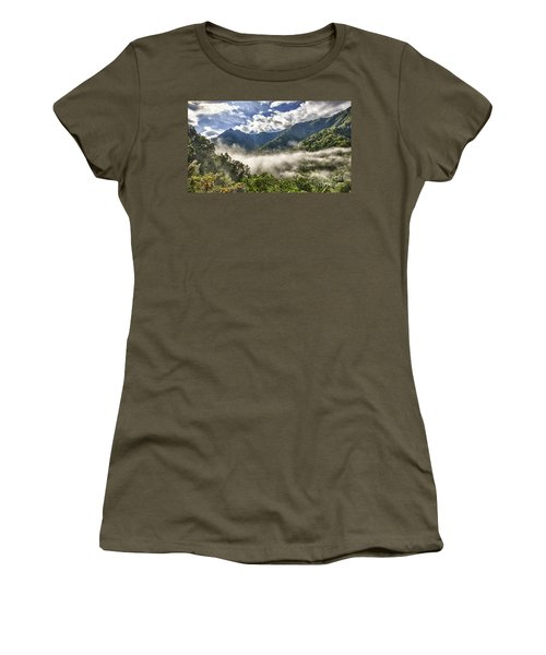 Smoky Mountain Chimney Tops Women's T-Shirt