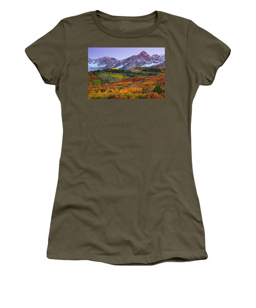 Sneffels Sunrise Women's T-Shirt (Athletic Fit)