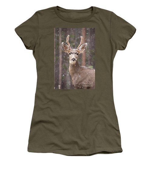 Snow Deer 1 Women's T-Shirt
